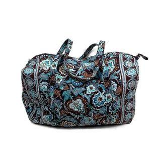 Vera bradley Java Blue Duffle Bag Retired